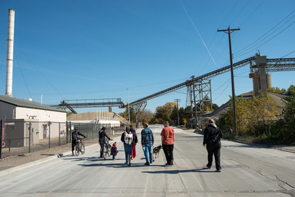 North Minneapolis Bicycle Riders Tour 26th Avenue