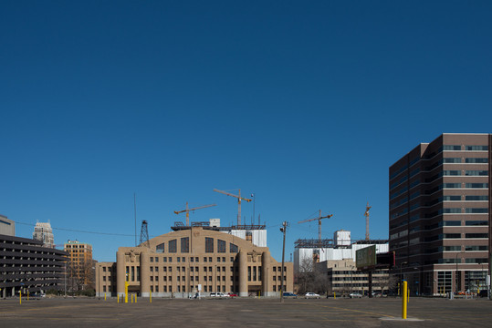 Minneapolis Armory Downtown East Construction