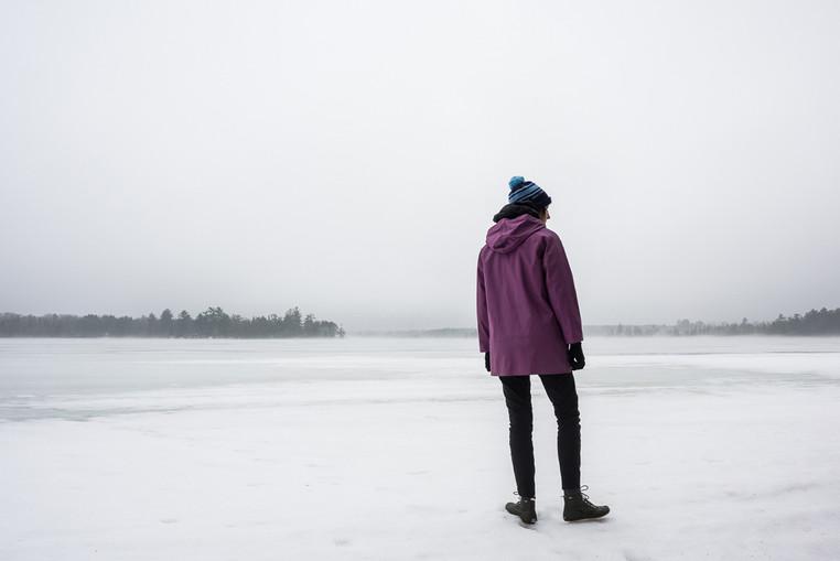 Frozen Dog Lake in Late Spring