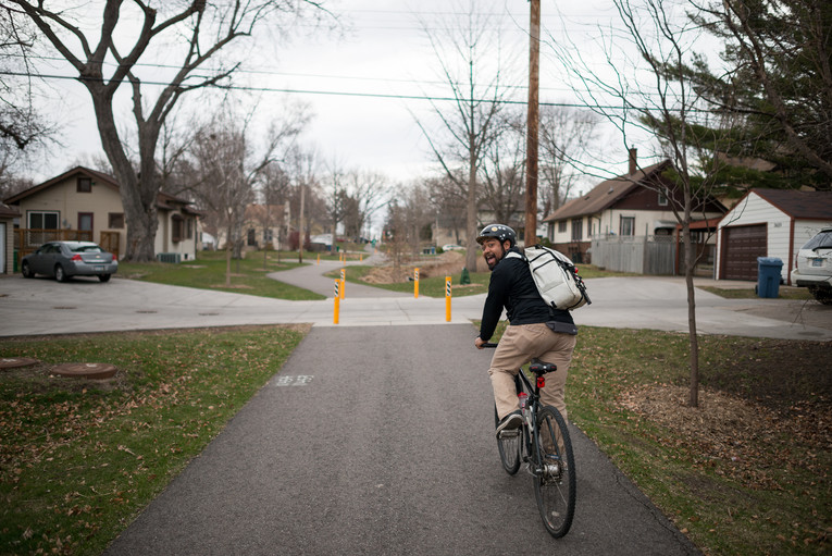 North Minneapolis Bicycle Advocate Alexis Pennie
