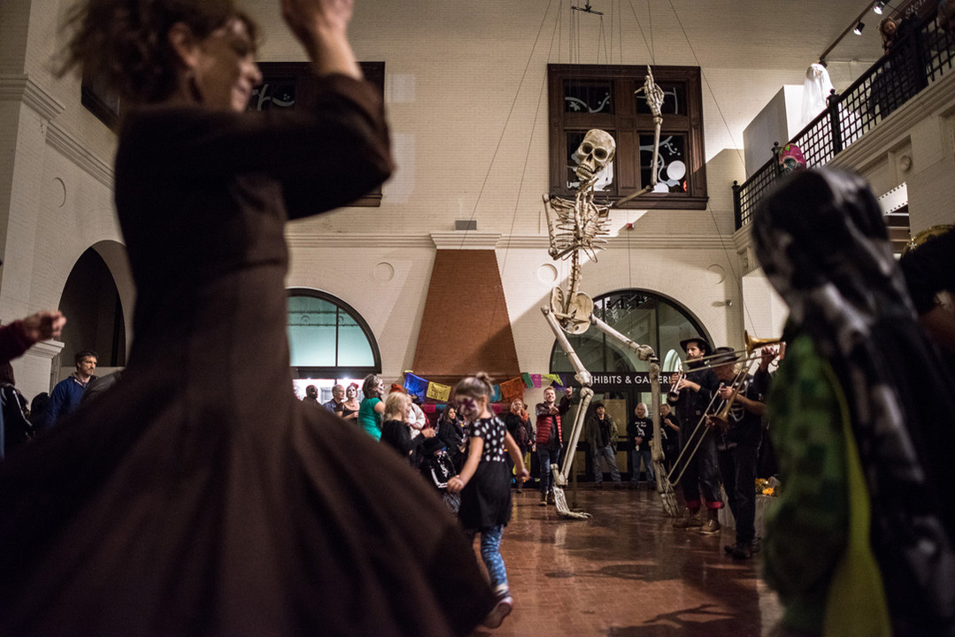 All Soul's Night Skeleton Puppet in Duluth