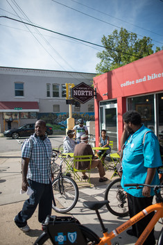 North Minneapolis Bicycle Riders at Venture North