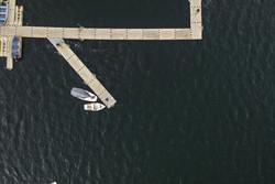 Lake Harriet Drone Aerial