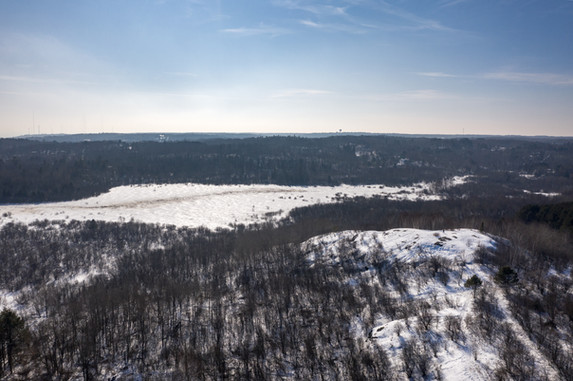 Hartley Nature Center in Winter - Visit Duluth Aerial
