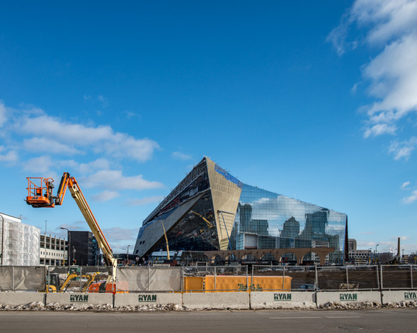 US Bank Stadium Constructions