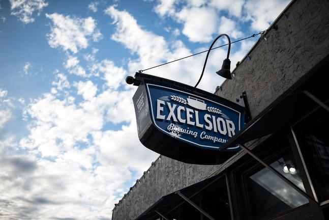 Excelsior Brewing Signage