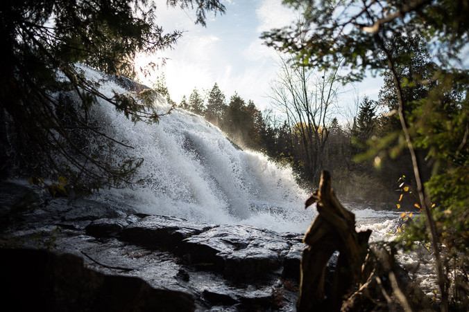 Bond Falls Across the Border in the UP