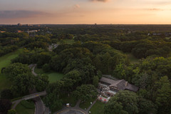 Theodore Wirth Golf Course Chalet Aerial
