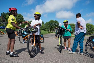 North Minneapolis Bicycle Riders Webber Park