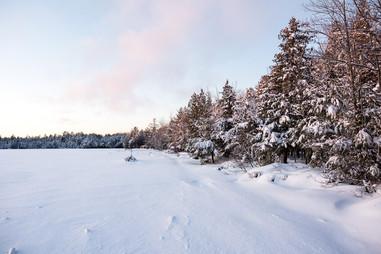 Three Lakes Winter Lakes