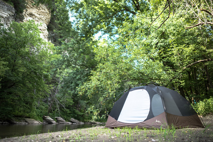 Hipcamp Outside of Rochester, Minnesota