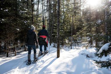 Three Eagles Snowshoeing