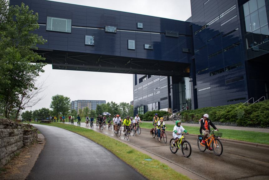 North Minneapolis Bicycle Riders Bike Slow Roll Twin Cities