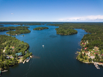 Sioux Narrows from Above