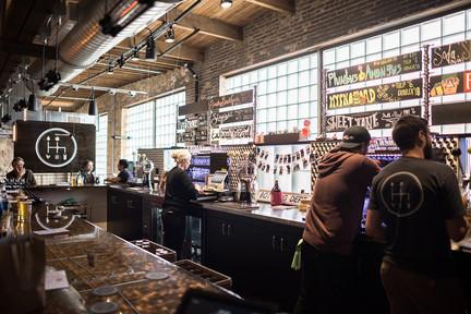 Clutch Brewing at Keg & Case Market