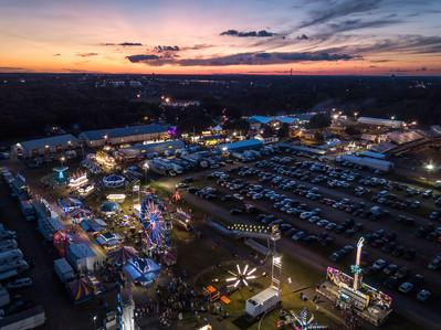 Anoka County Fair Aerial Photo