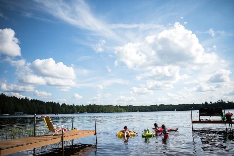 Three Lakes Dock Life