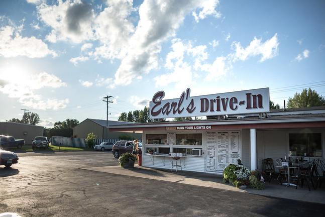 Earl's Drive In Roseau, Minnesota