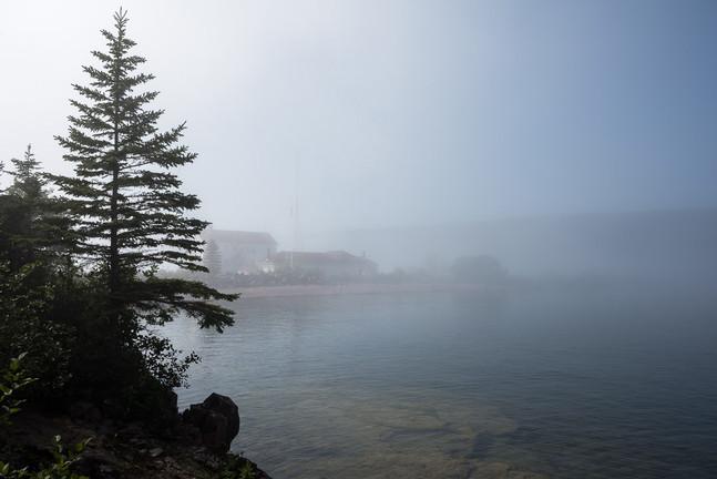 Fog Shrouded Grand Marais