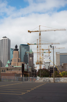 Downtown East East Town Cranes