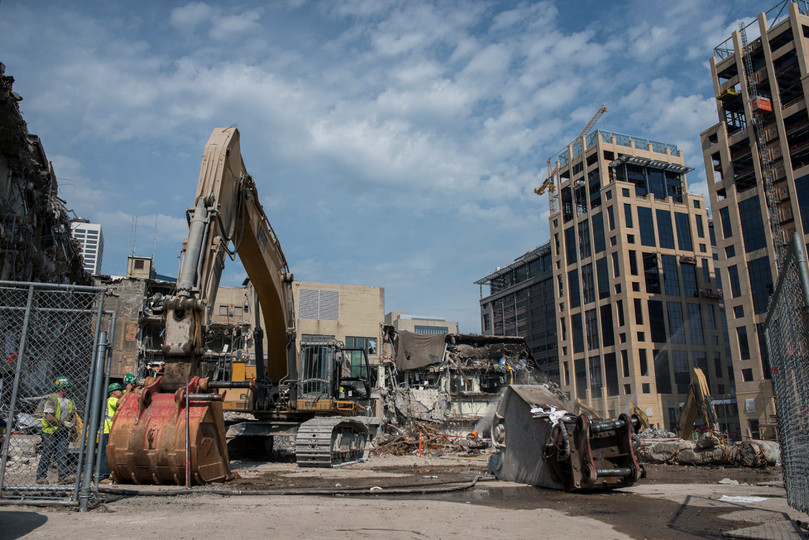 Demolished Star Tribune Building
