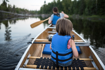 BWCA Canoeing with Kids for Voyageur Canoe