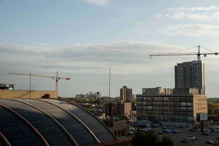 Armory and Downtown East Construction