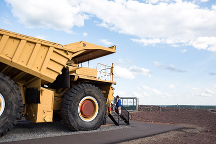 Giant Taconite Dump Truck at Hull-Rust-Mahoning Mine