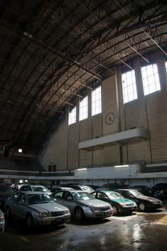 Minneapolis Armory as Parking Garage