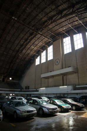 Minneapolis Armory as Parking Garage