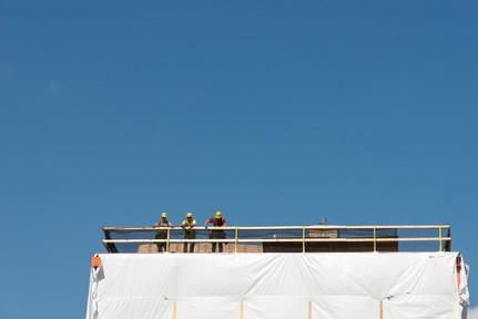 Minneapolis Elevator Shaft Construction