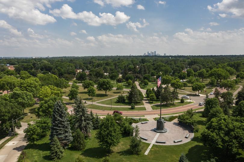 Victory Memorial Parkway Aerial