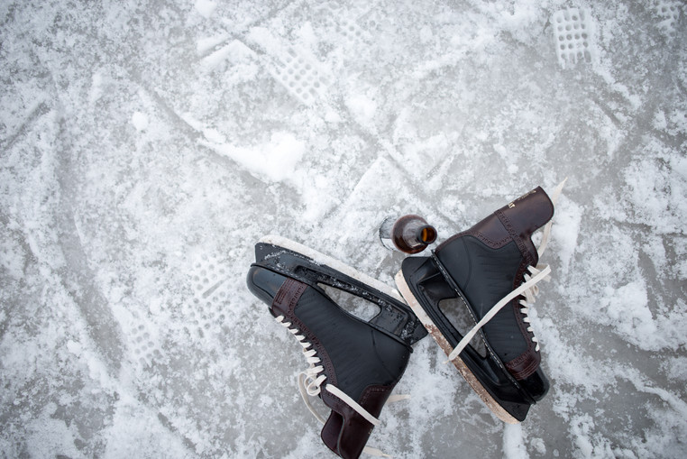 A Wisconsin Craft Brew and Ice Skates