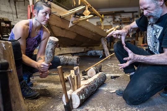 Duluth Færing Project Artistan Teaching Student