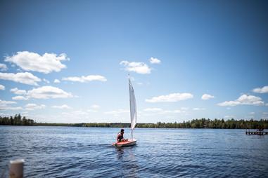 Sailing Three Lakes Chain of Lakes