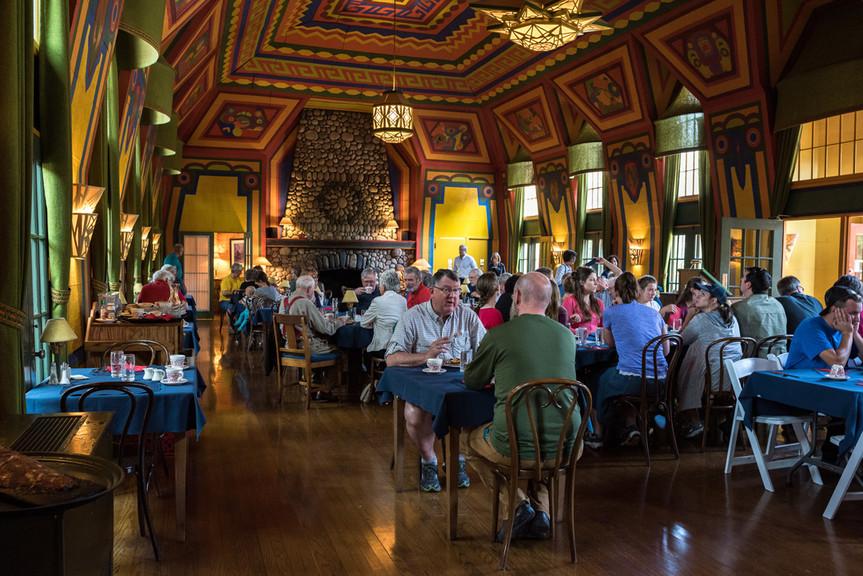 The Naniboujou Lodge & Restaurant's Famed Dining Room