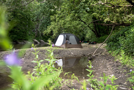 Hipcamp Outside of Rochester Minnesota