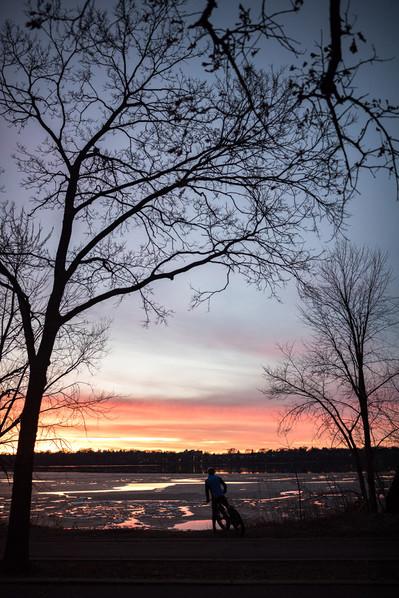 Lake Harriet Minneapolis Sunset