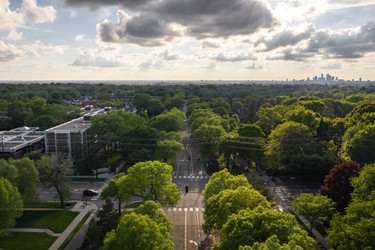 Summit Avenue Aerial