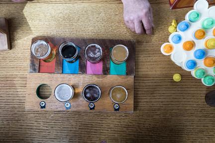Bauhaus Brew Labs Beer Flight