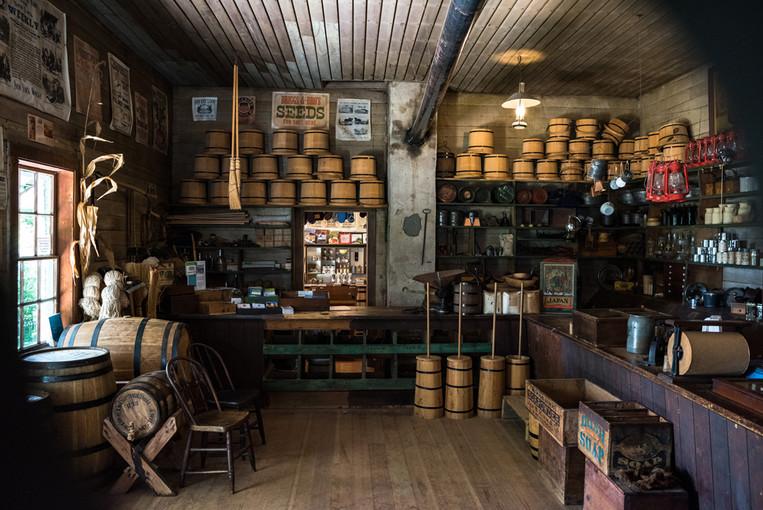MNHS's Harkin Store near New Ulm