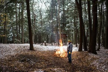Bon Fire on Northwoods Acreage