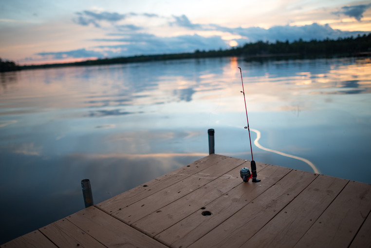 Fishing Pole and the Three Lakes Chain