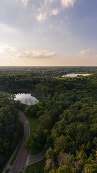 Theodore Wirth Parkway Aerial