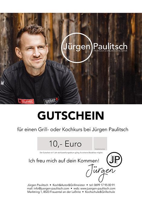 Gutschein 10,- Euro