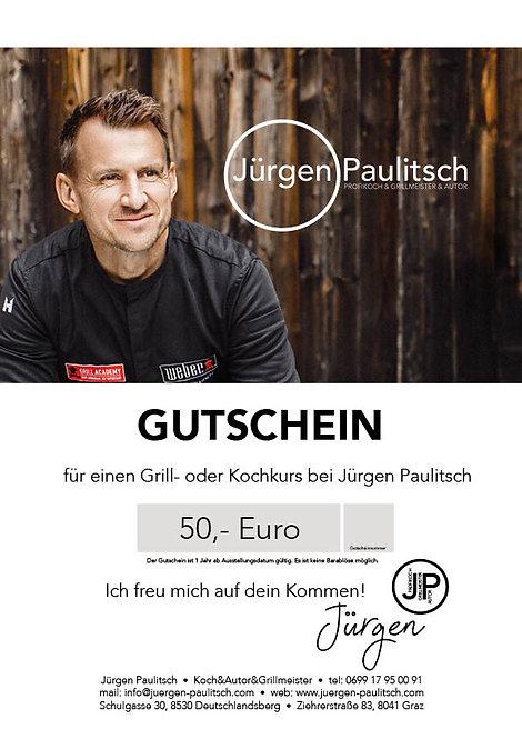 Gutschein 50,- Euro