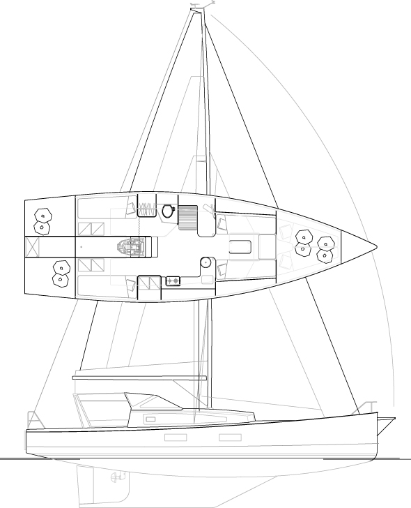 Médium 38' Sloop
