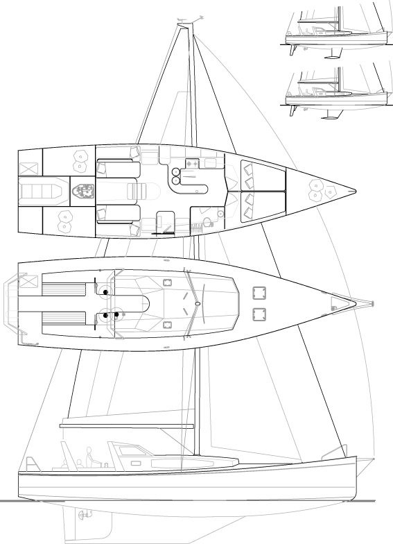 Médium 51' Sloop