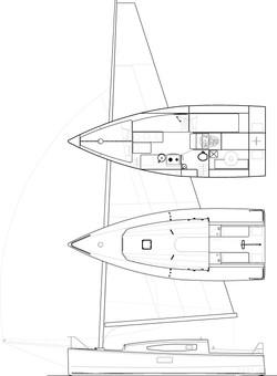 Kobe 26' cat-boat