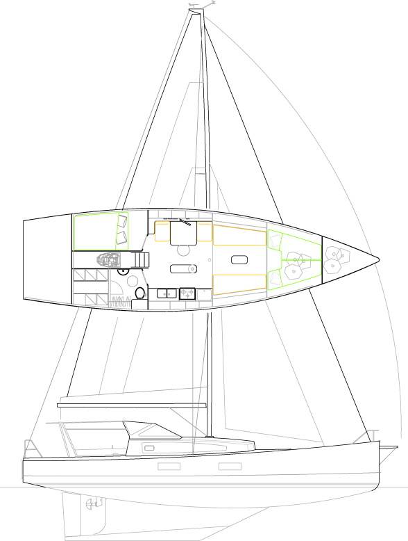 Médium 44' Sloop